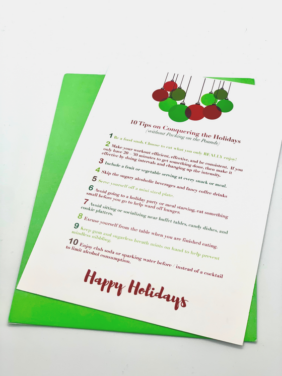 10 Tips To Conquer the Holidays