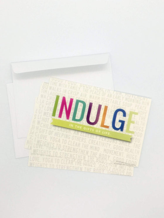 INDULDGE Notecards