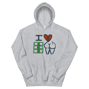 The I Love Money Unisex Hoodie