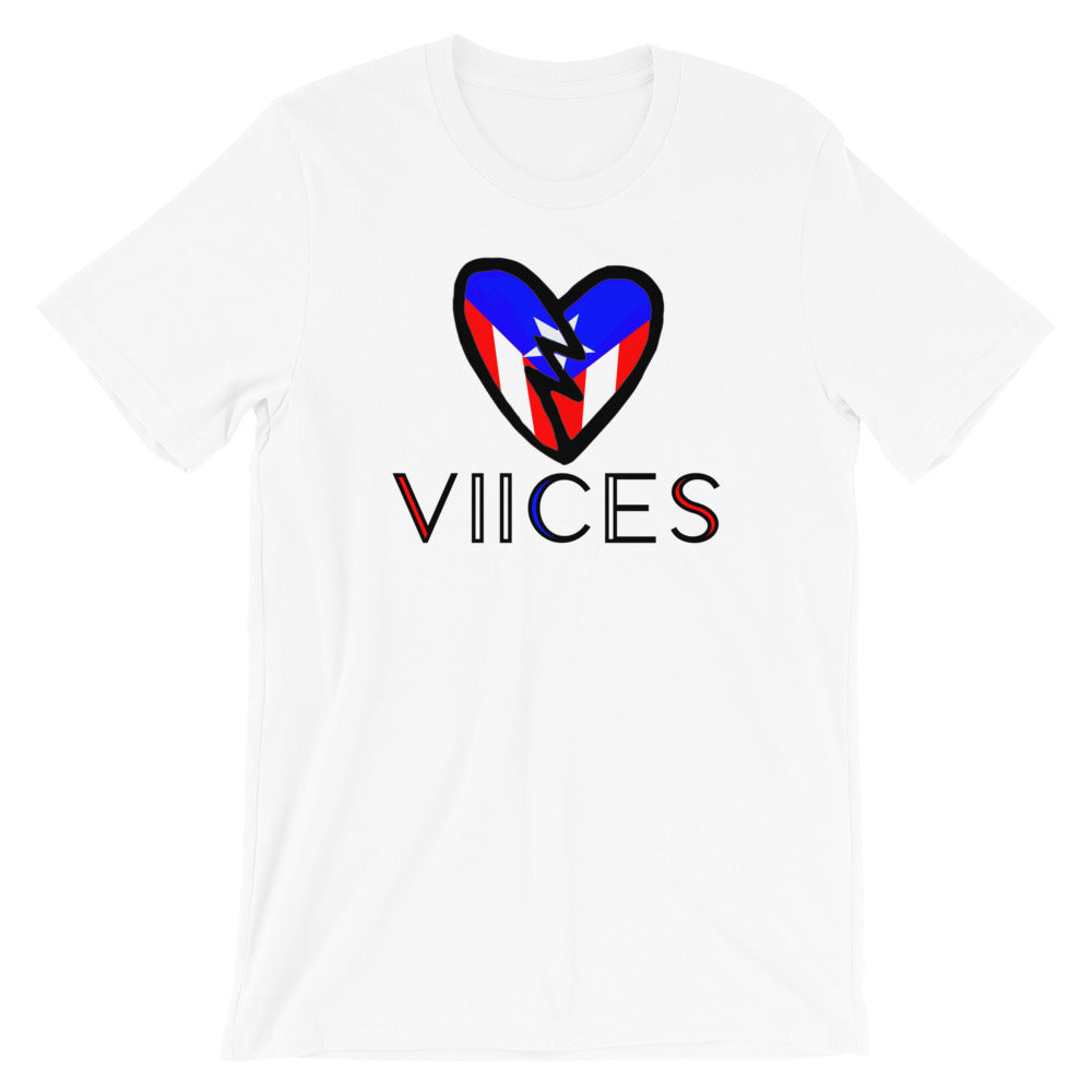 "The ""Viices Puerto Rico"" Short-Sleeve Unisex T-Shirt"