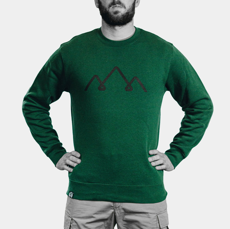 green military sweater