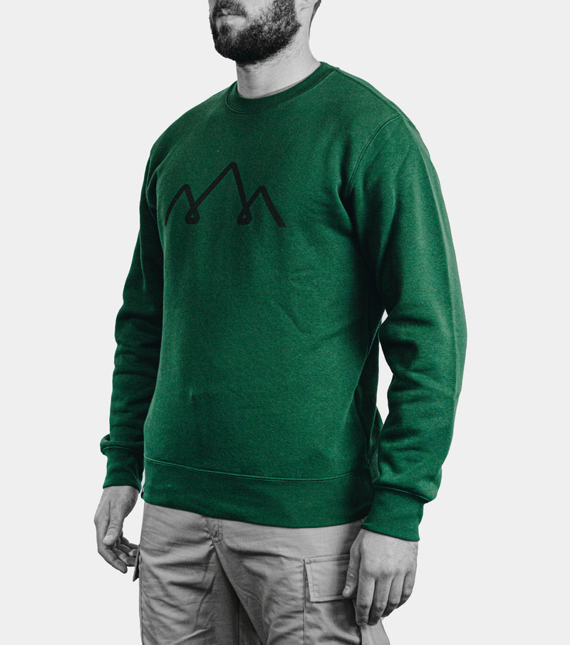 green tactical sweater