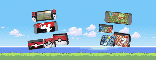 Stickers Pokémon pour Nintendo Switch