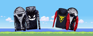 collection de vestes Pokémon