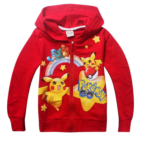 Veste Pokemon Go Rouge