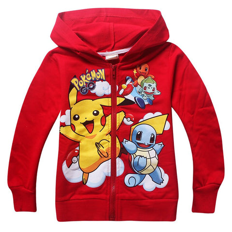 Veste Pokemon Rouge