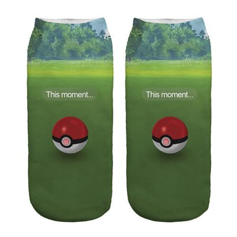 Photo des chaussettes Pokémon de Capture