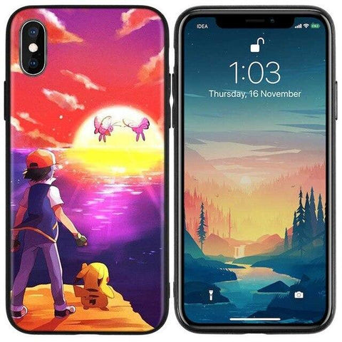 Image de la Coque iPhone Pokémon papillusion