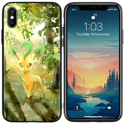 Image de la Coque iPhone Pokémon Phyllali