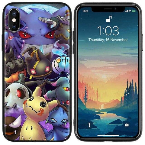 Image de la Coque iPhone Pokémon type spectre