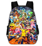 Sac à dos Pokémon représentant le cartable Super smash bros