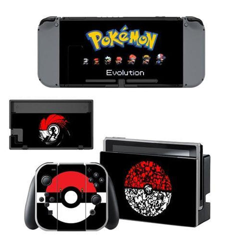 Photo des stickers Pokémon de Pokéball