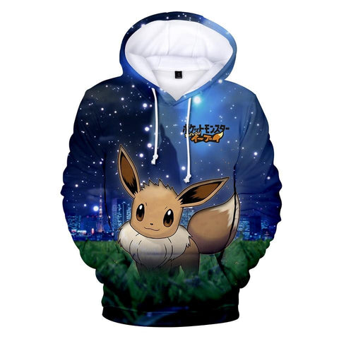 Photo d'un sweat Pokémon go evoli