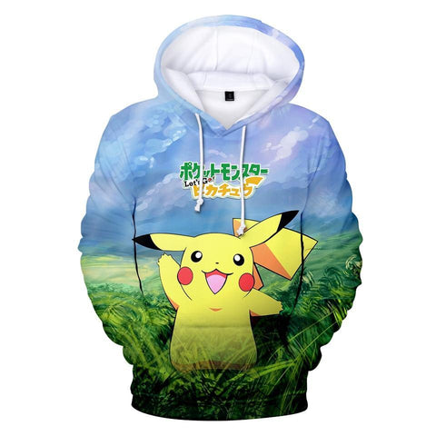 Photo d'un sweat Pokémon go Pikachu
