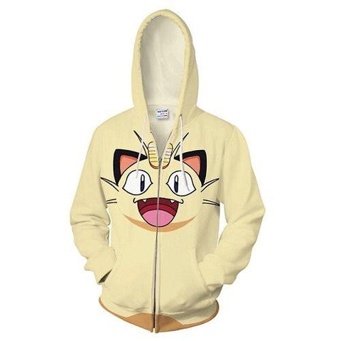 Photo d'un sweat Pokémon miaouss