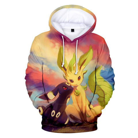 Photo d'un sweat Pokémon noctali phyllali