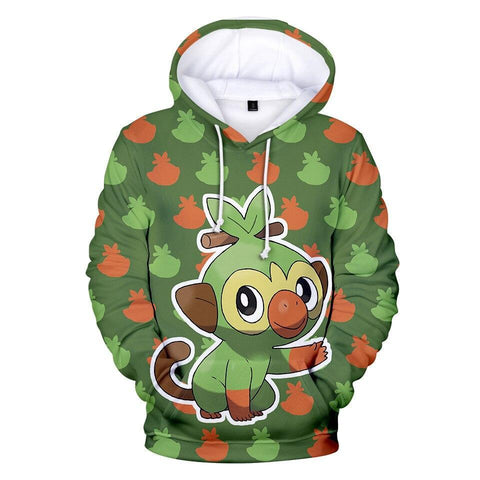 Photo d'un sweat Pokémon ouistempo