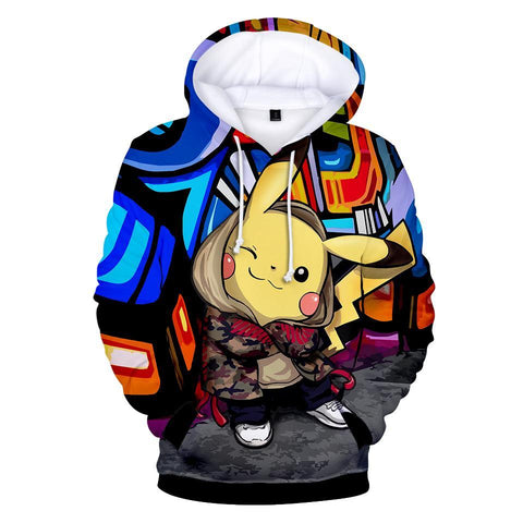 Photo d'un sweat Pokémon Pikachu street
