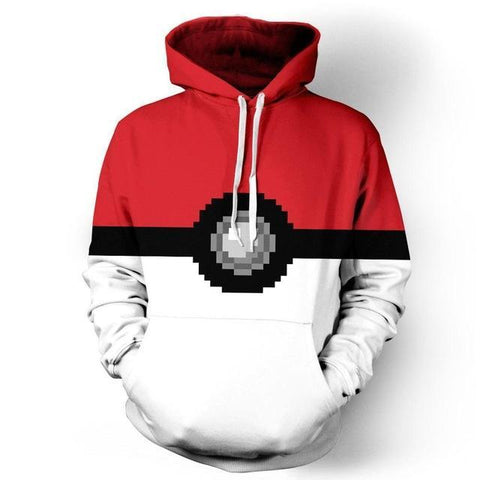 Photo d'un sweat Pokémon pokéball