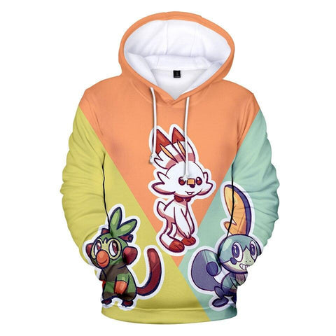 Photo d'un sweat Pokémon starters 8G