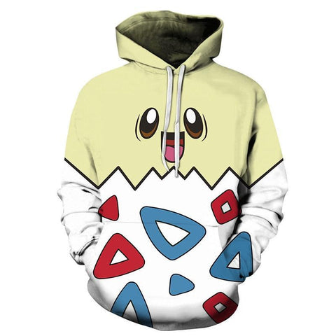 Photo d'un sweat Pokémon togepi