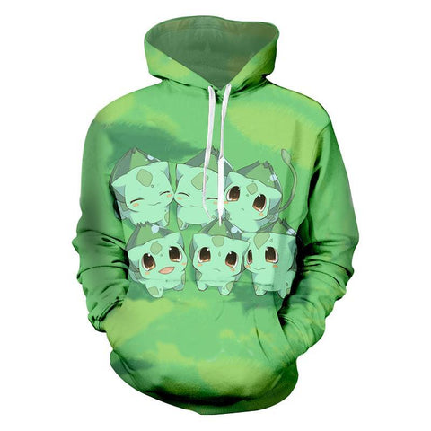 Photo d'un sweat Pokémon bulbizarre