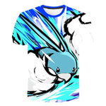 image du t-shirt pokemon coloré de altaria