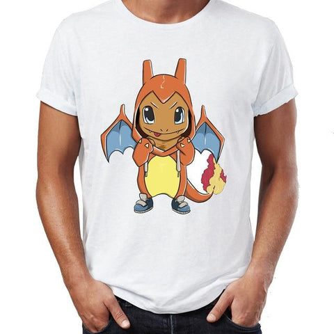 Photo du t-shirt Pokémon Salamèche déguisé