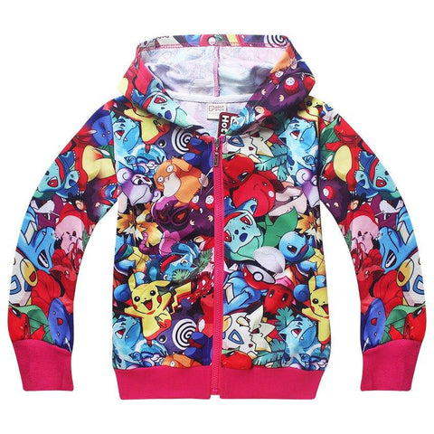 Veste Pokemon Go Enfant
