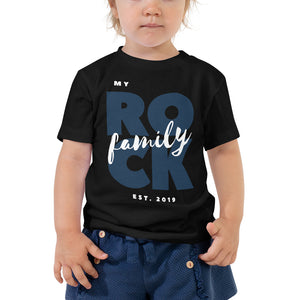 Bella + Canvas 3001T Toddler Short Sleeve Tee with Tear Away Label