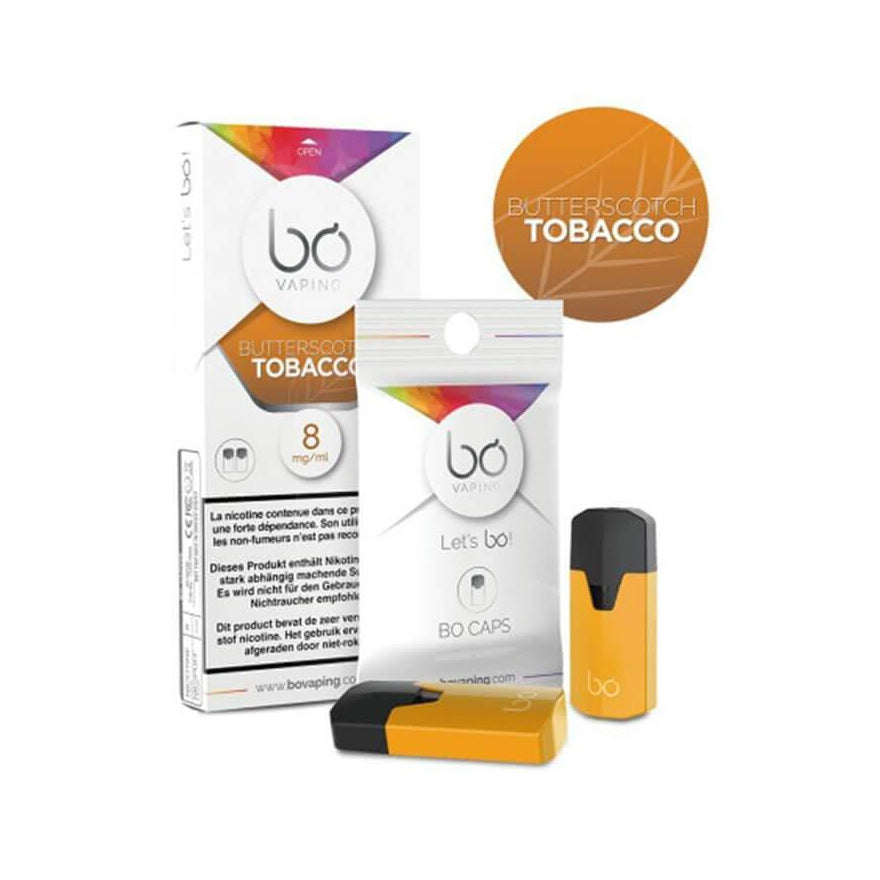 Butterscotch Tobacco Pods (2 Pack) by Bō Vaping