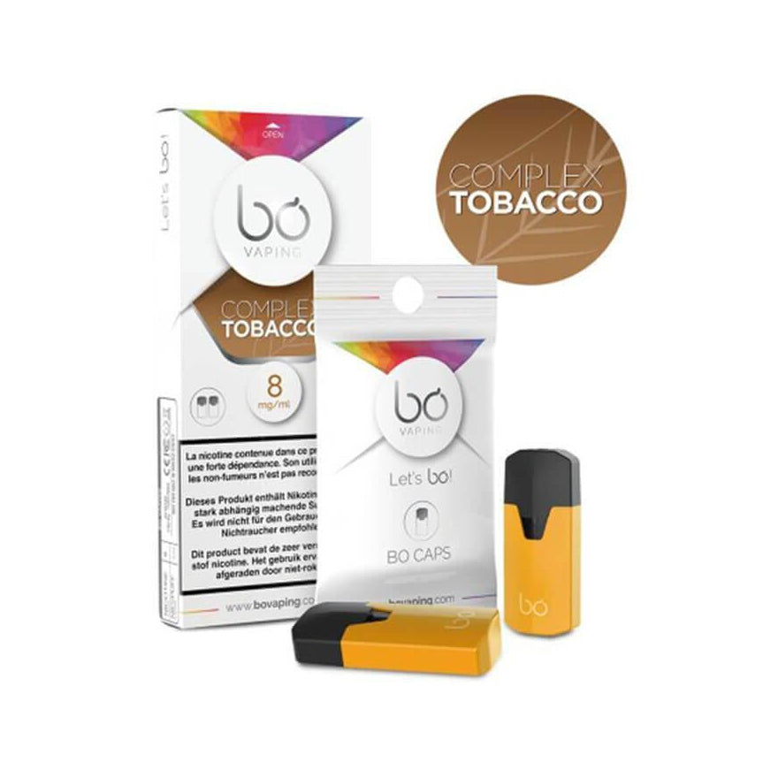 Complex Tobacco Pods (2 Pack) by Bō Vaping