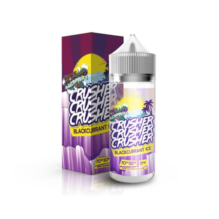 Blackcurrant Ice 100ml eLiquid by Crusher
