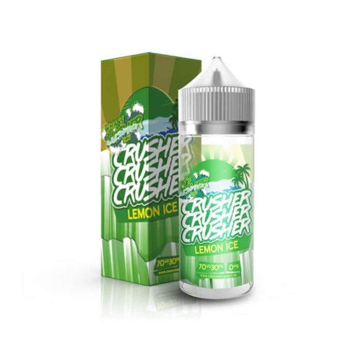 Lemon Ice 100ml eLiquid by Crusher