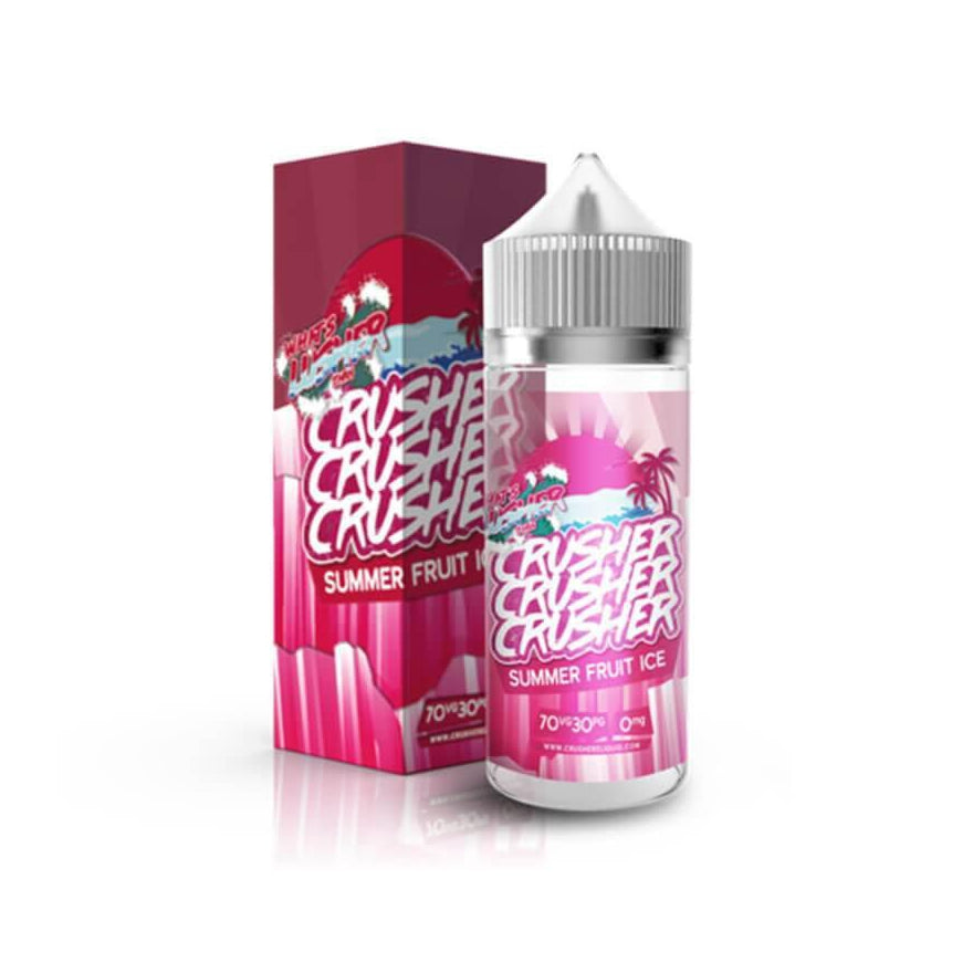 Summer Fruit Ice 100ml eLiquid by Crusher