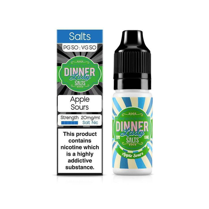 Apple Sours 10ml Salt by Dinner Lady