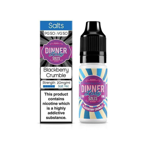 Blackberry Crumble 10ml Salt by Dinner Lady