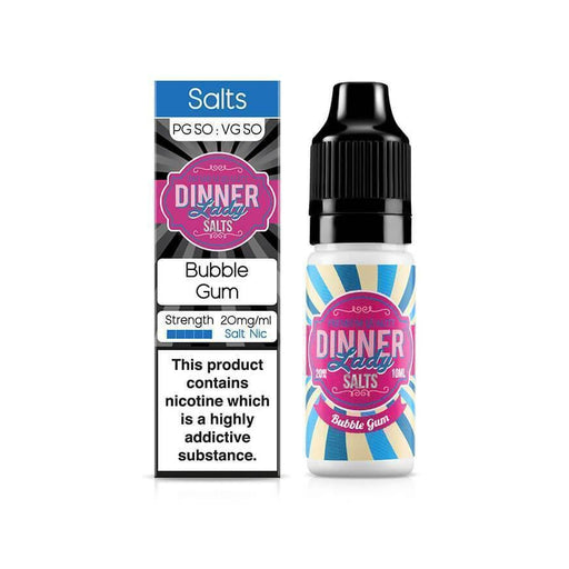 Bubble Gum 10ml Salt by Dinner Lady