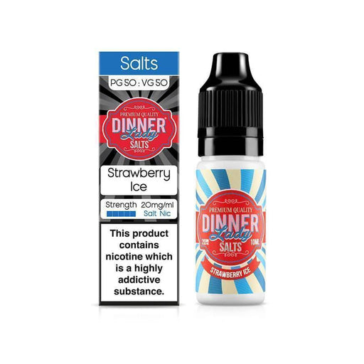 Strawberry Ice 10ml Salt by Dinner Lady