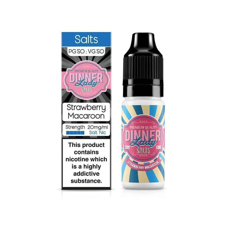 Strawberry Macaroon 10ml Salt by Dinner Lady