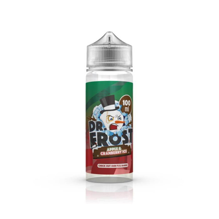 Apple & Cranberry Ice 100ml by Dr Frost