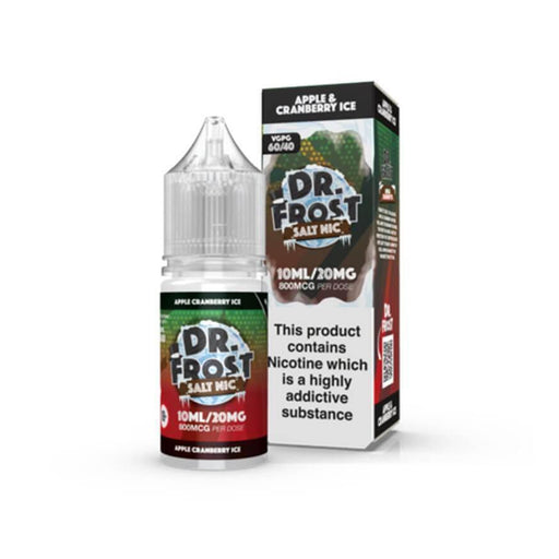 Apple & Cranberry Ice 10ml Salt by Dr Frost