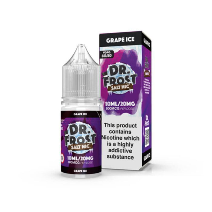 Grape Ice 10ml Salt by Dr Frost