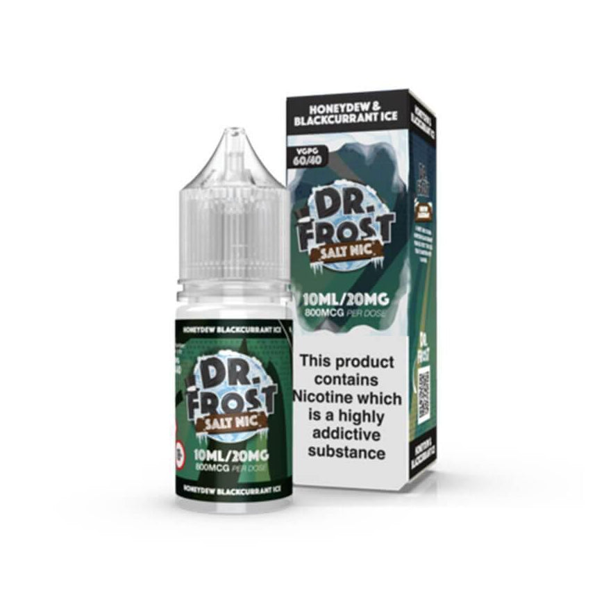 Honeydew Blackcurrant Ice 10ml Salt by Dr Frost