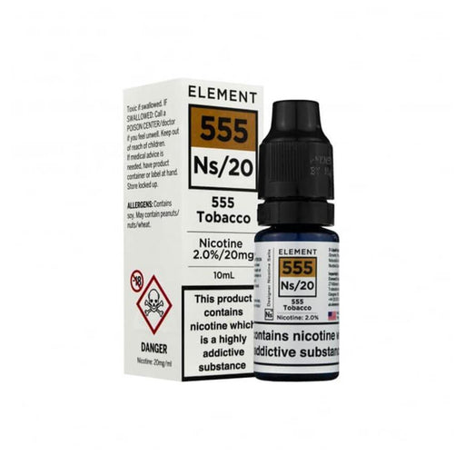 555 Tobacco 10ml Salt by Element