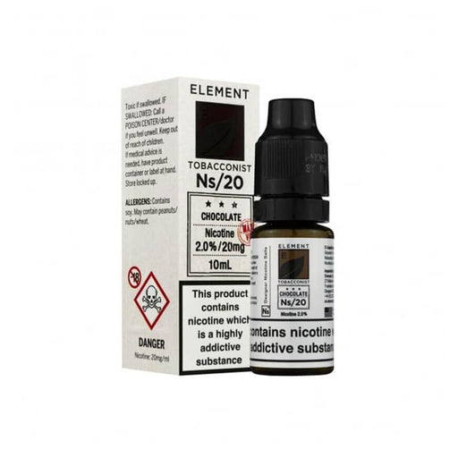 Chocolate Tobacco 10ml Salt by Element