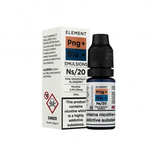 Pink Grapefruit & Blueberry 10ml Salt by Element