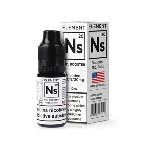 NS20 Salt Nicotine Shot 65VG by Element