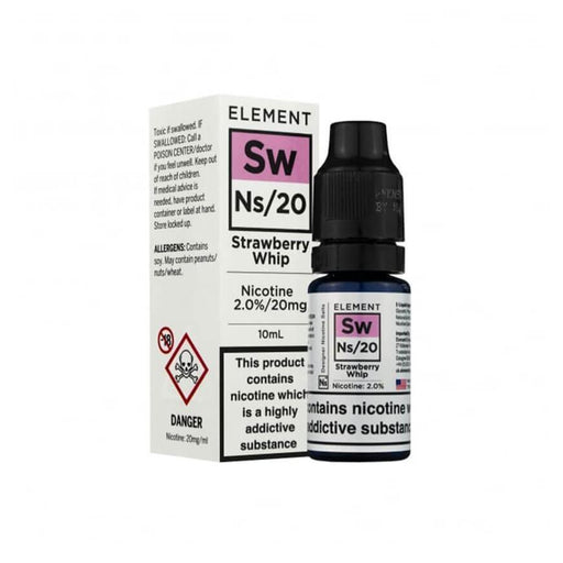Strawberry Whip 10ml Salt by Element