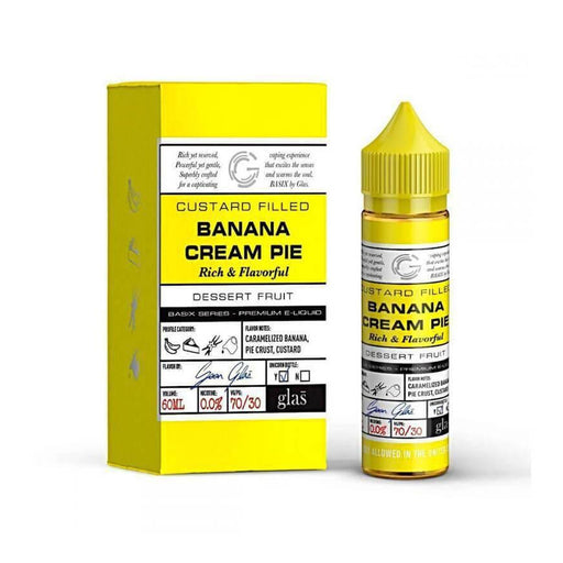 Banana Cream Pie 50ml by Glas Vapor